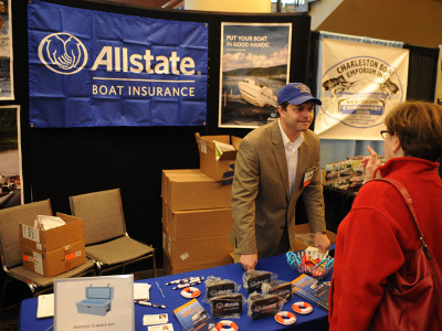 Allstate Insurance at Charleston Boat Show