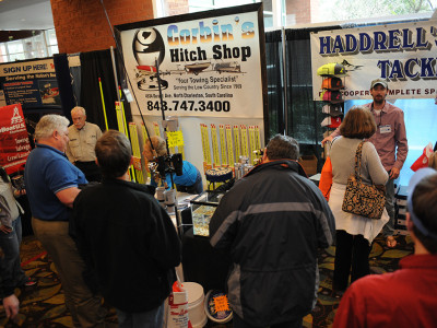 Corbin's Hitch Shop at Charleston Boat Show